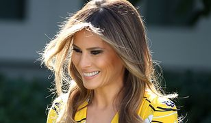 Lista najlepiej ubranych na świecie. Wśród nich Michelle Obama, ale nie... Melania Trump