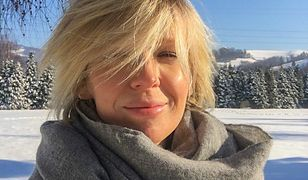 """Magda Mołek w zimowej stylizacji. Postawiła na słynną """"kołdrę"""""""