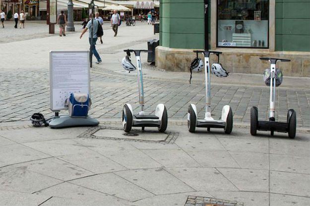 Wrocław: otwarto pierwszą wypożyczalnię segwayów. Cieszy się sporym zainteresowaniem