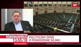Koronawirus. Zamieszanie z wyborami i posiedzeniem Sejmu. Ryszard Kalisz sugeruje, że to wina prezesa PiS