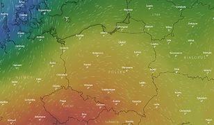 IMGW ostrzega. W najbliższych dniach Polskę nawiedzą silne wiatry.