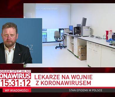 Koronawirus w Polsce. Minister zdrowia Łukasz Szumowski o jedynym sposobie na walkę