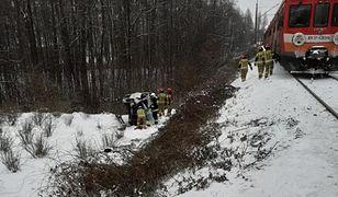 Dwa wypadki na torach w Kalwarii Zebrzydowskiej. Akcja służb