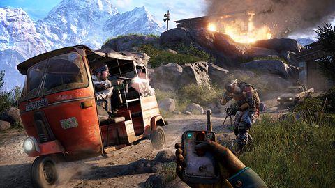 Far Cry 4 pozwoli Ci przyczepić do słonia C4