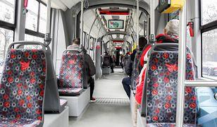 Pasażer wyciągnął w tramwaju nóż sprężynowy