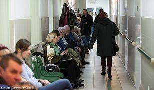 Kolejki na SOR-ach to duży problem dla pracowników ochrony zdrowia