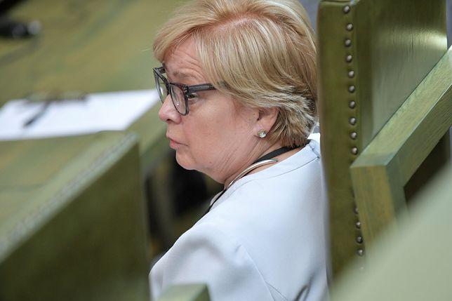 """""""Władza ministra sprawiedliwości jest ogromna"""". Prezes Małgorzata Gersdorf mówi o """"trójpodziale władzy"""""""