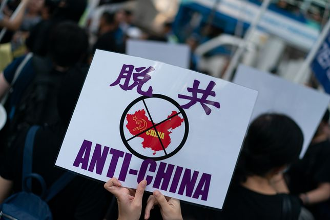 Mieszkańcy Hongkongu protestują przeciw uciskowi ze strony Pekinu