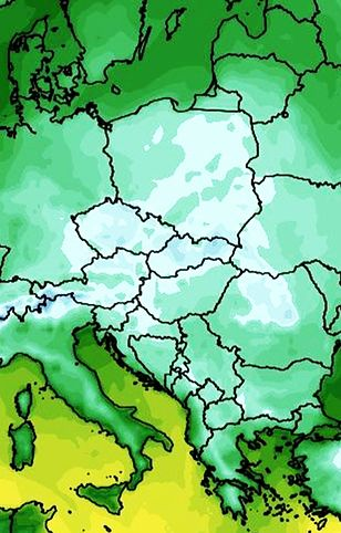 Pogoda. Zmiana warunków. Nie tylko przymrozki (wxcharts.com)