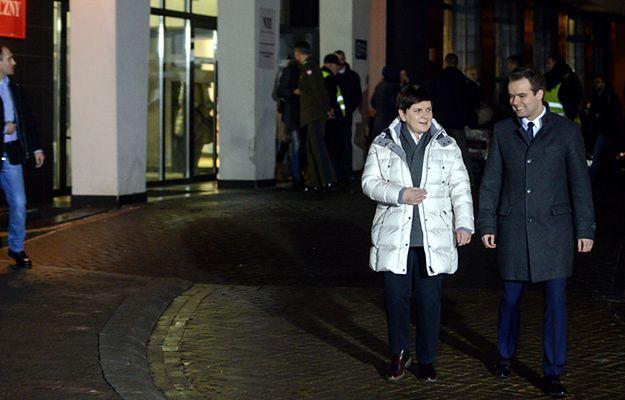 """Premier Beata Szydło wyszła ze szpitala. """"Do zobaczenia we wtorek"""""""