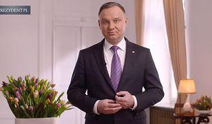 Dzień Kobiet. Prezydent Andrzej Duda nagrał okolicznościowe wideo z życzeniami
