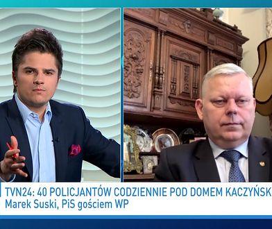Marek Suski się zdenerował. Padło pytanie o Jarosława Kaczyńskiego
