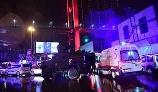 """Zamach na nocny klub """"Reina"""" w Stambule w Turcji"""