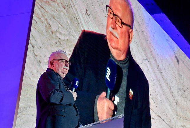 Wybory prezydenckie 2020. Lech Wałęsa na międzynarodowej konferencji w Pradze