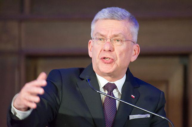 Stanisław Karczewski uważa, że Holland obraża jego wiarę
