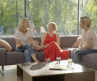 Małgorzata Ohme w rozmowie z koleżankami