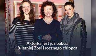 Joanna Szczepkowska znów została babcią. Nie zamierza się wtrącać