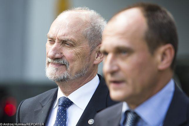 Antoni Macierewicz i Paweł Kukiz.