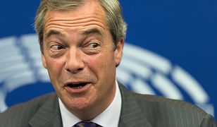 Nigel Farage jest czołowym euroceptykiem Parlamentu Europejskiego