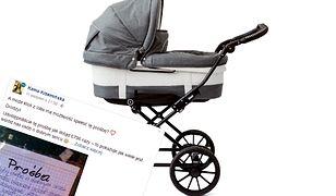 Babcia prosi o wózek dla jeszcze nienarodzonej wnuczki. Pomagają internauci, a odzew przekracza jej najśmielsze życzenia