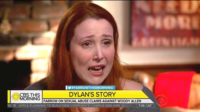 """Córka Woody'ego Allena ze łzami w oczach patrzyła na jego twarz. """"Miałam 7 lat, kiedy dotknął moich miejsc intymnych"""""""
