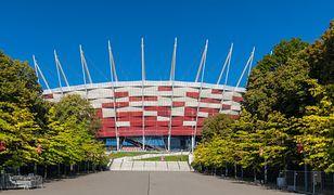 Warszawa. Stadion Narodowy zostanie podświetlony w barwach Białorusi
