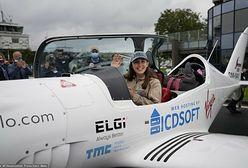 Nastolatka chce samotnie okrążyć Ziemię samolotem i ustanowić rekord