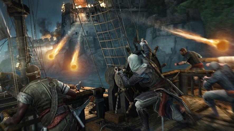 Nowy zwiastun Assassin's Creed IV: Black Flag — atak na fort