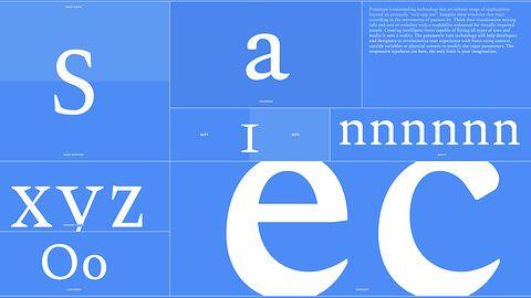 Fonty parametryczne to koniec problemów z rozmiarem i wyglądem tekstu