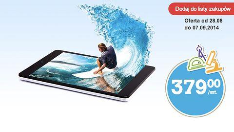 Aluminiowy tablet z HSDPA+ za 379 zł od jutra w Biedronce