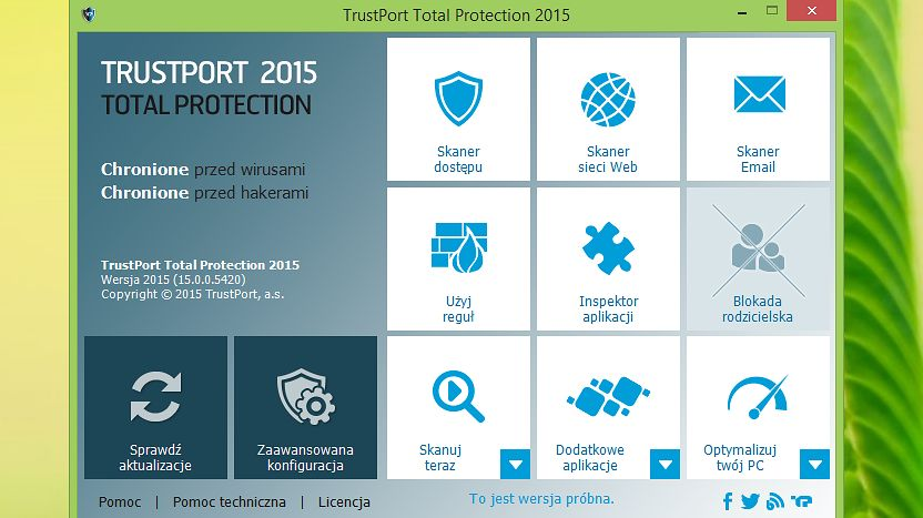 Nowe wersje pakietów TrustPort nie tylko ochronią, ale i posprzątają system