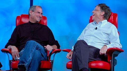 Apple przetrwał dzięki Microsoftowi. Gdy miał kłopoty, interweniował Bill Gates
