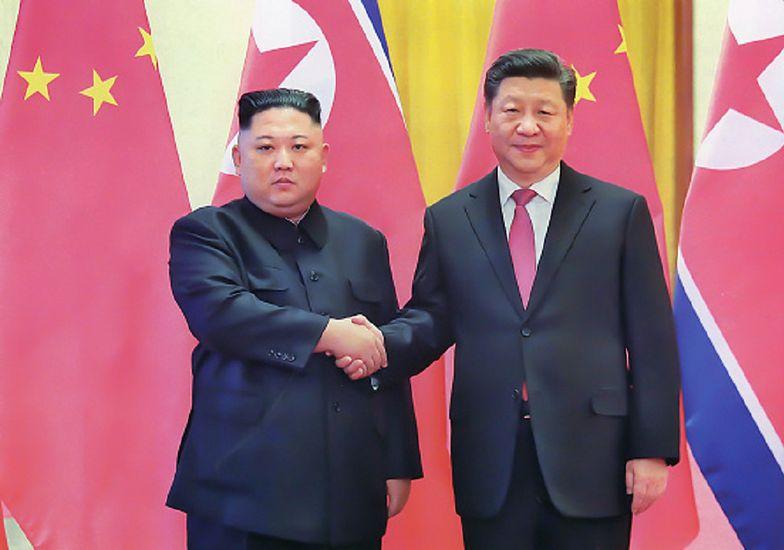 Korea Północna jeszcze bliżej z Chinami. Oświadczenie Kim Dzong Una