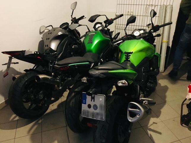 Skradzione w Niemczech motocykle ukrywano w Łomiankach.