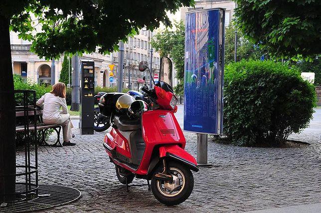 Yamaha Beluga to przykład skutera, którym można wjechać na buspas