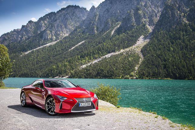 Lexus LC500 / fot. Mateusz Żuchowski