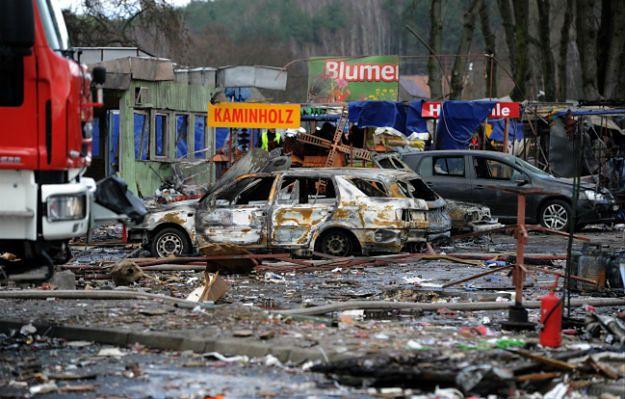 Wybuch na stoisku z fajerwerkami w Osinowie Dolnym. Osiem osób rannych
