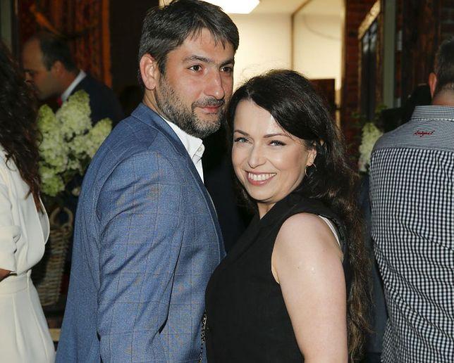 Katarzyna Pakosińska z mężem Iraklim