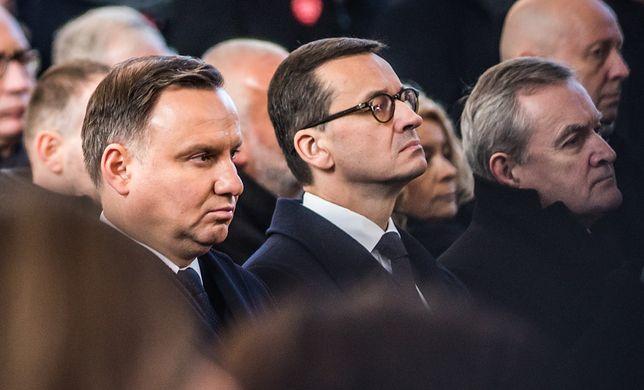 Mateusz Morawiecki na pogrzebie Pawła Adamowicza
