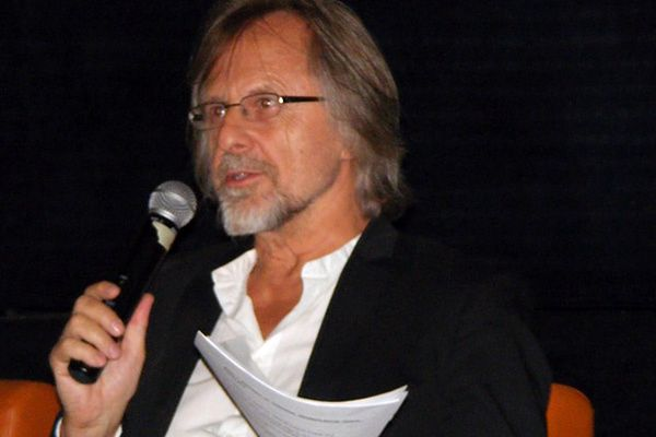 Dyrektor festiwalu Jan A. P. Kaczmarek