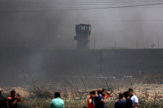 Zamieszki na Zachodnim Brzegu i w Strefie Gazy - 25 osób rannych