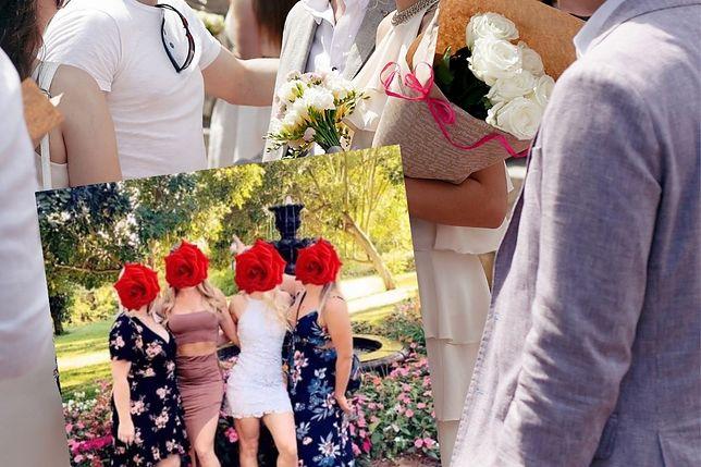 Koleżanki panny młodej zostały skrytykowane za wybór sukienek na wesele
