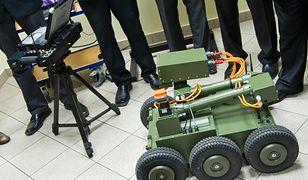 Polscy naukowcy skonstruowali model robota m.in. do wykrywania min