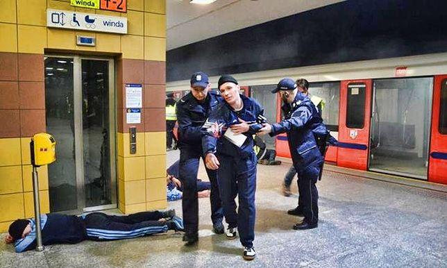 Nocny pożar w metrze! [MOCNE ZDJĘCIA]