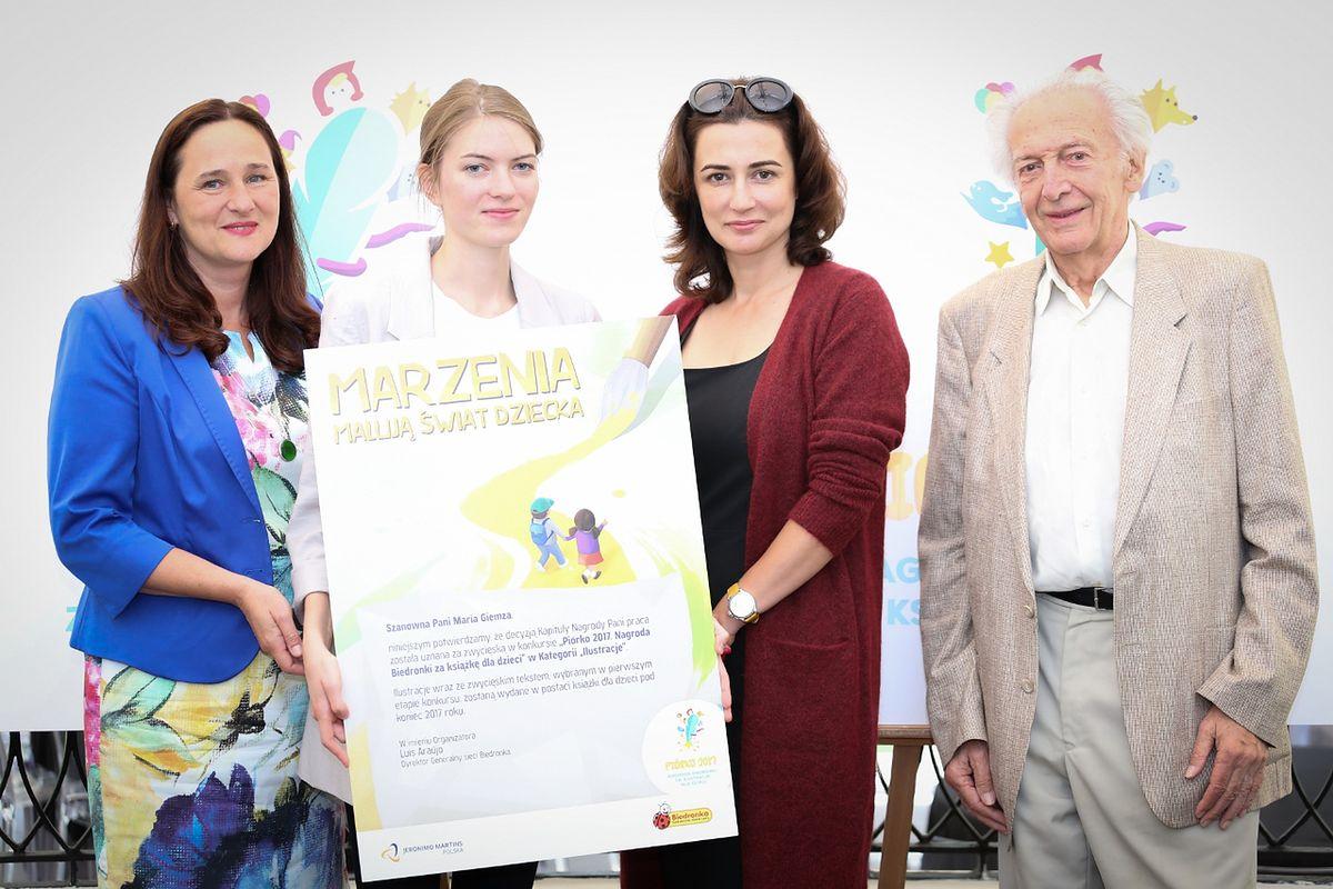 Dostała od Biedronki 100 tys. zł nagrody za ilustracje do książki dla dzieci