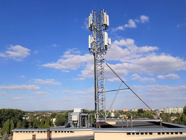 Stacja bazowa w Lublinie obsługująca 5G