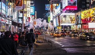 Zdjęcie nocne zrobione smartfonem