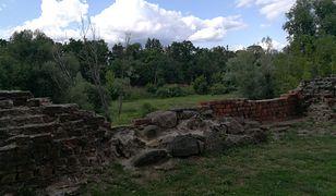 Zamek w Świeciu udostępnił zdjęcia miejsca, w którym doszło do kradzieży na swoim profilu.