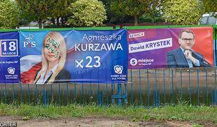 Wybory parlamentarne 2019. Nieznani sprawcy zniszczyli plakaty polityków PiS w Szczecinie