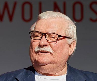 """Lech Wałęsa został pozwany przez Sławomira Cenckiewicza ws. wypowiedzi o fałszowaniu dokumentów TW """"Bolka"""""""